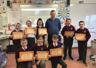 Awards for Excellent Attendance